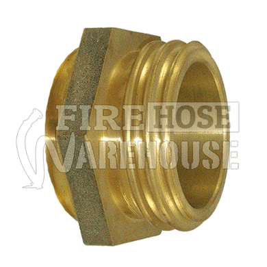 Brass CFA male to 38mm, 50mm or 65mm female BSP