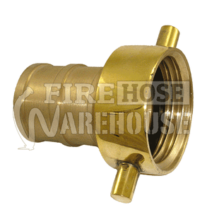 Brass CFA female to 38mm, 50mm or 65mm hose tail