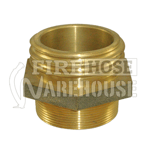 Brass CFA male to 38mm, 50mm or 65mm male BSP