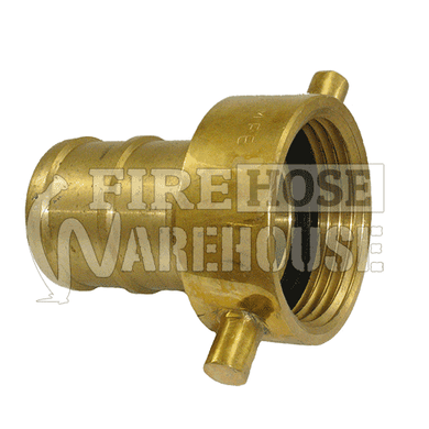 Brass MFB female to 38mm, 50mm or 65mm hose tail