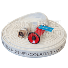 Canvas Style Lay Flat Fire Hose Kit 25mm I.D. x 30 metres