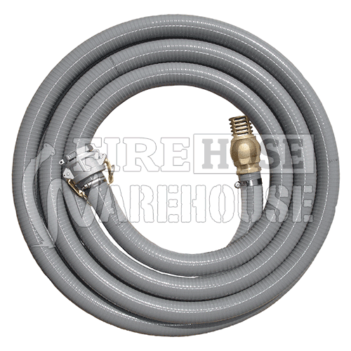 Fire Suction Hose Kit Camlock & Foot Valve 38mm or 50mm