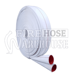 Canvas Style Fire Fighting Lay Flat Hose. Made In Australia