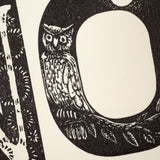 Wood Engravers' Network Small Alphabet