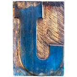 Enquirer Letterform Series No. 1: J