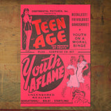 Teen Age Youth aflame