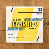2019 New Impressions Catalog & Poster
