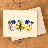 Palm Trees Dance Cards