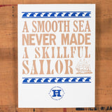 Skillful Sailor Poster