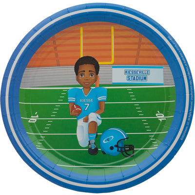 Andre African American Football Player