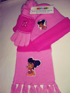 Lemba Hat Scarf & Gloves Set