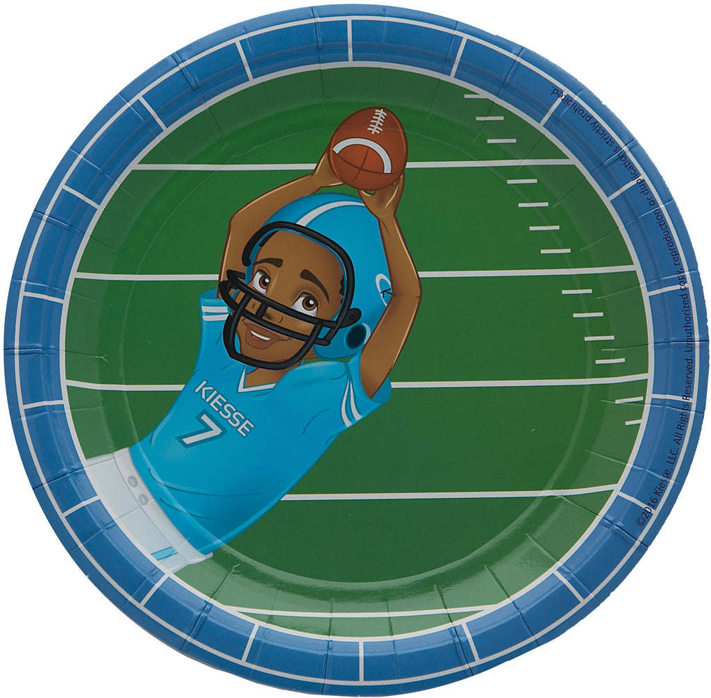 Andre Football Player Dessert Plates