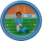 Andre Football Player Lunch Plates