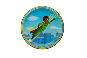 Andre Super Hero Lunch Plates