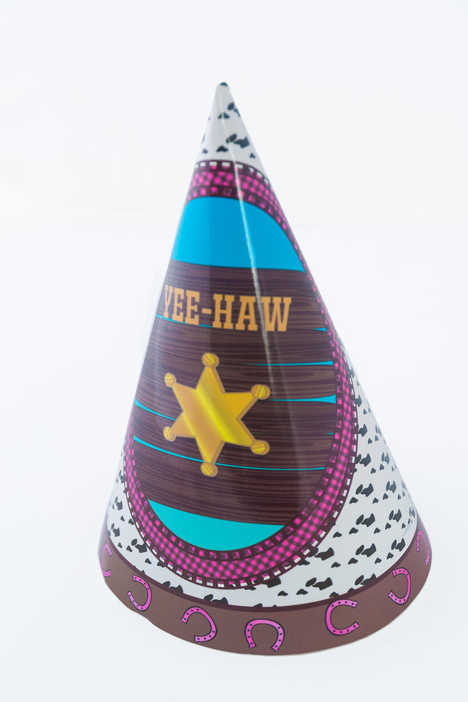 Luciana Cowgirl Party Hats