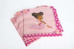 Lemba Ballerina Lunch Napkins