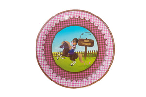 Luciana Cowgirl Lunch Plates