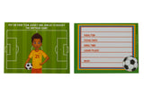Mateo Soccer Player Invitations
