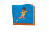 Mateo Soccer Player Lunch Napkins