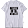 Straight Outta Tilted Towers Fortnite T-Shirt