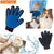 Pet Deshedding Brush Glove - For Cats or Dogs