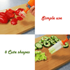 Vegetable & Fruit Shape Pop Cutter - makegoodies