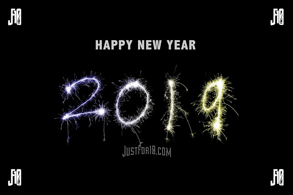 Happy 2019 from justfor10.com