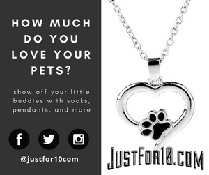 Do you Love your Pets?  Black Friday at justfor10.com