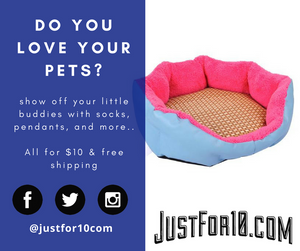 Cat & Dog Beds at justfor10.com for Black Friday