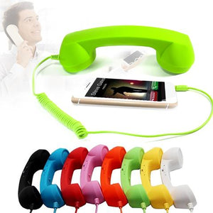Retro Telephone Handset Receiver For Iphone Samsung Huawei (Universal)