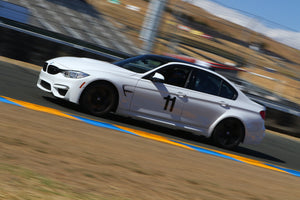 White BMW M3 Vinyl numbers from trackarmour