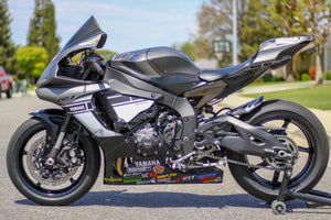 Yamaha R1 profile with TrackArmour applied
