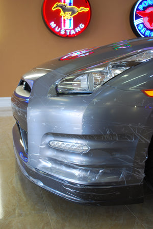 Nissan GTR Quarter panel with trackarmour paint protection