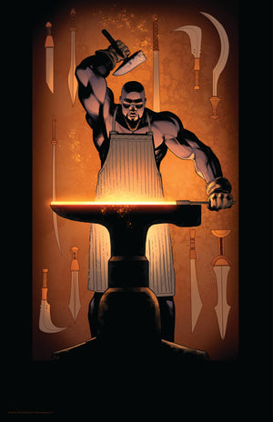 11 x 17 CHUMA THE BLACKSMITH POSTER
