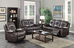 leather power recliner sofa