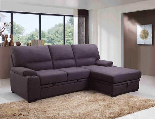 Anaheim Condo Sleeper Sectional with Storage Chaise