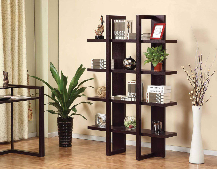 Brassex Inc. Bookcase Jerry Display Shelf
