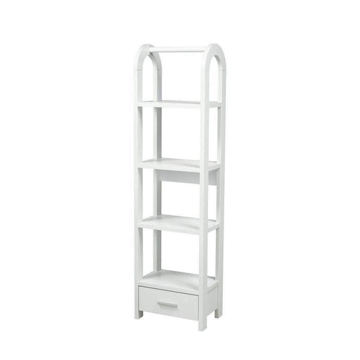 Brassex Inc. Bookcase White Anne Display Stand  - Available in 3 Colours