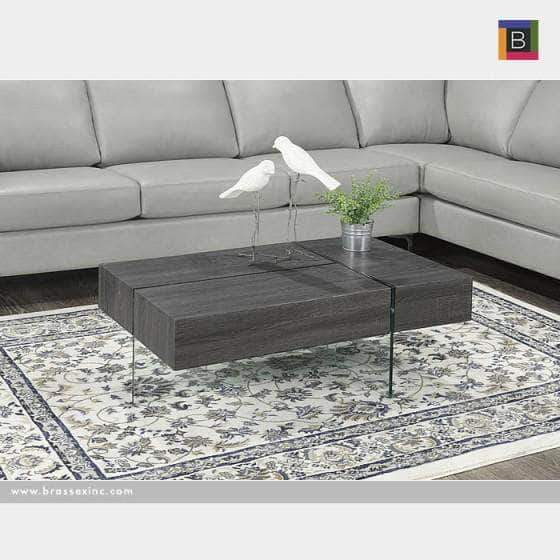 Brassex Inc. Coffee Table Brassex 3-Way Storage Coffee Table  - 2 Colours Available
