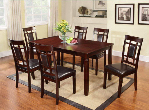 Brassex Inc. Dining Set Kitimat 7 Piece Dining Set