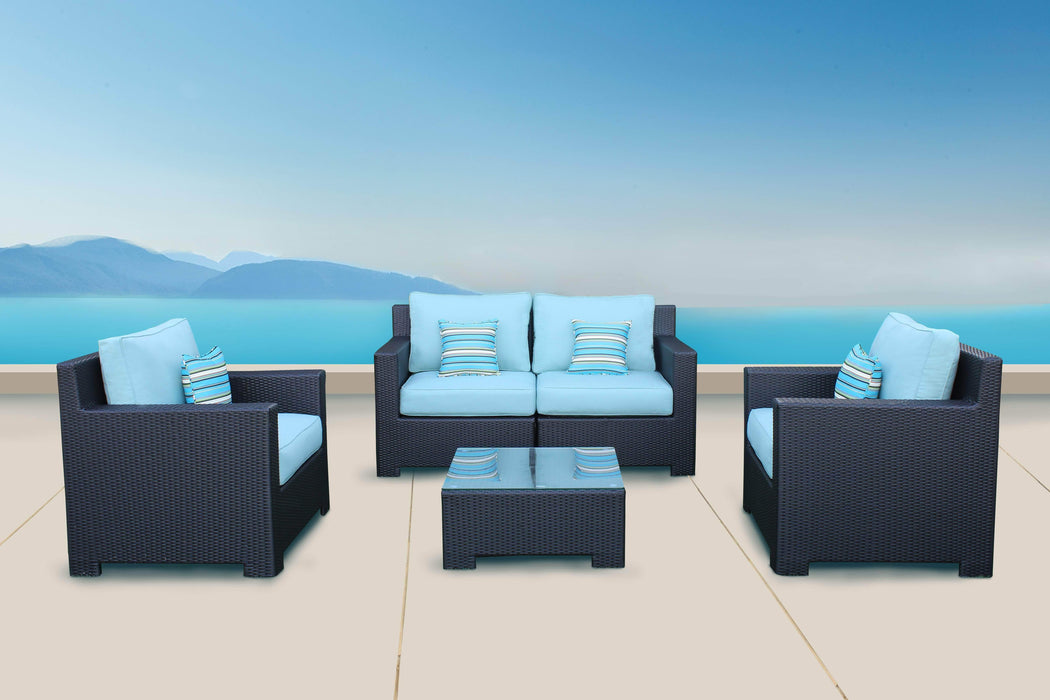 CIEUX Conversation Set Provence Conversation Sofa Set - Available in 3 Colours