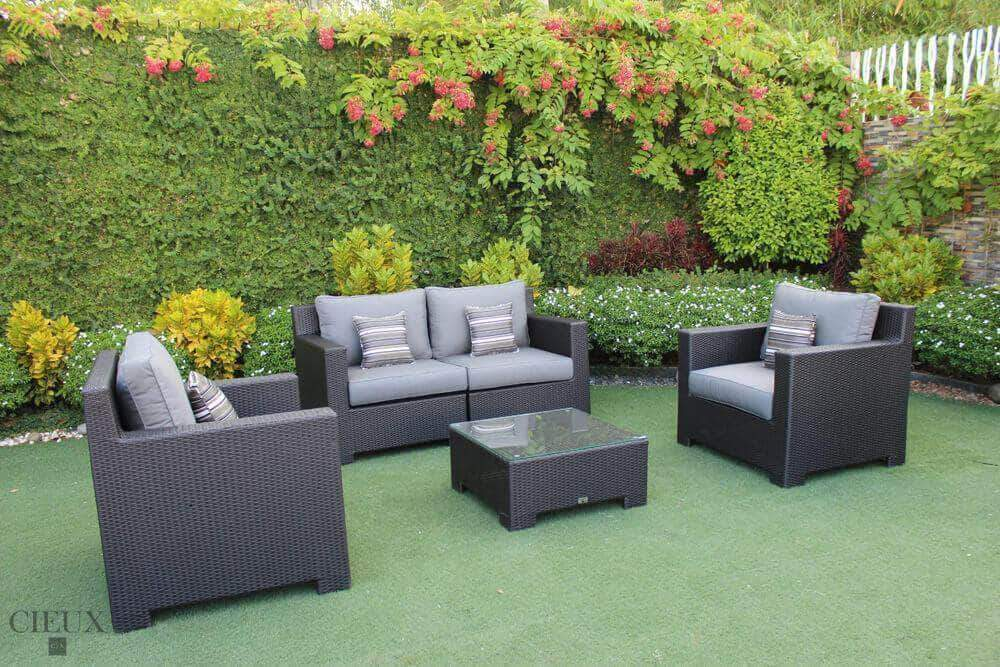 CIEUX Conversation Set Spectrum Mist Provence Conversation Sofa Set - Available in 3 Colours