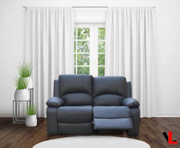 Levoluxe Loveseat William Reclining Loveseat in Leather Match - Available in 2 Colours