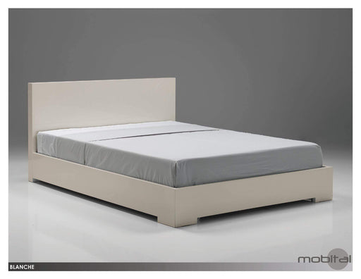 Mobital Bed Queen / White Blanche Platform Bed - Available in 2 Colours