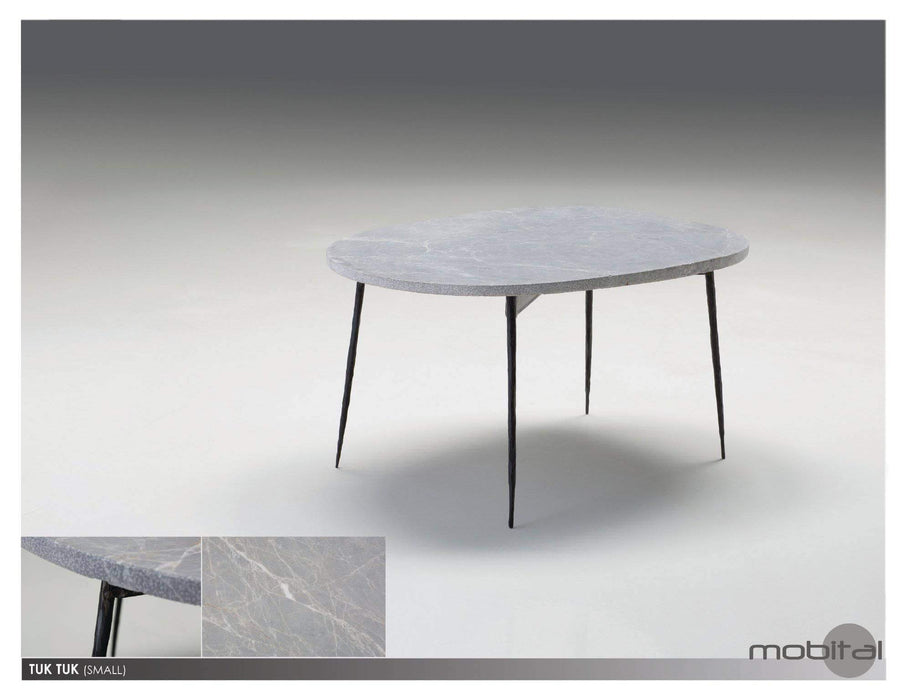 Mobital Coffee Table Small / Grey Tuk Tuk Coffee Table Spanish Nero Marble with Black Powder Coated Steel - Available in 2 Colours