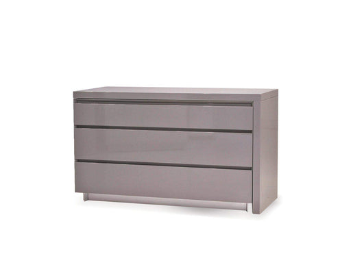 Mobital Dresser Light Grey Savvy Double Dresser High Gloss Light Grey - Available in 2 Colours