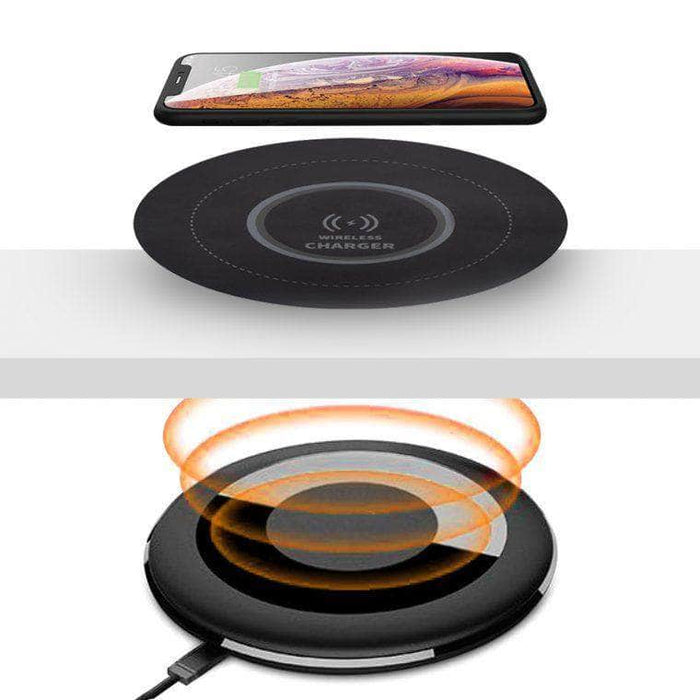 Modubox Charger Black Universel Under-Desk Wireless Charger - Black