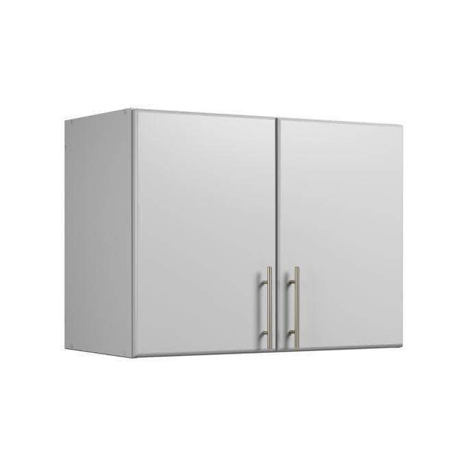 Modubox ELITE Home Storage Collection Light Grey Elite 32 inch Stackable Wall Cabinet - Multiple Options Available