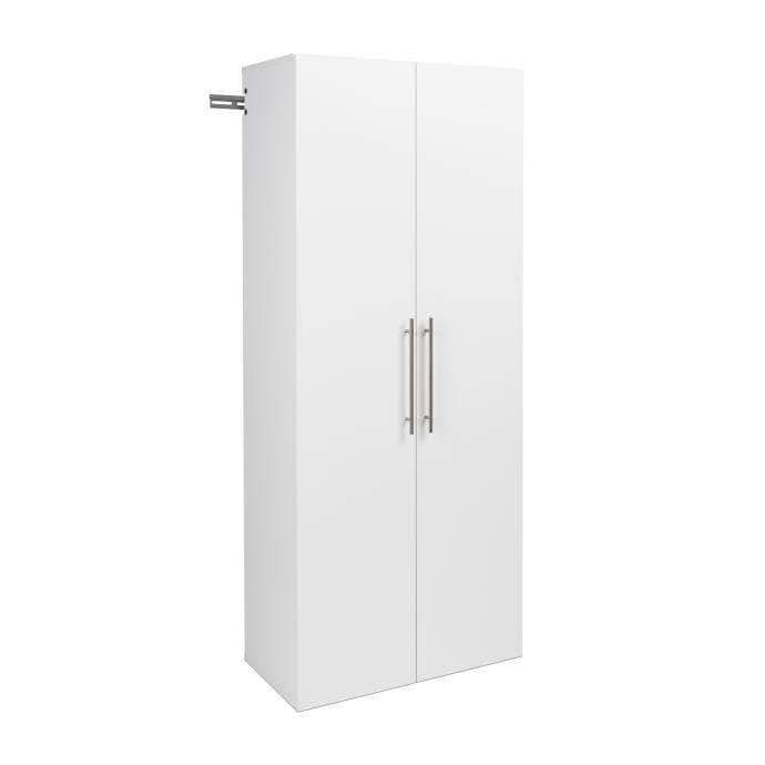 Modubox HangUps Home Storage Collection White HangUps 30 inch Large Storage Cabinet