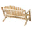 Modubox Patio Settee Natural Cedar Outdoor Cedar White Cedar 4' Settee - Natural Cedar